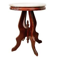 Antique Accent Table Antique Marble Top Accent Table Ebth