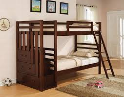 Cherry Bunk Bed C460087 88 Cherry Boy Wood Bunk Bed Stair