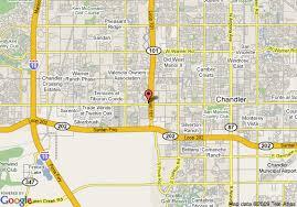 map of chandler az map of residence inn chandler chandler