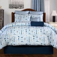 Beachy Comforters Harbor Beach Nautical Bedding Sets Cabin Place