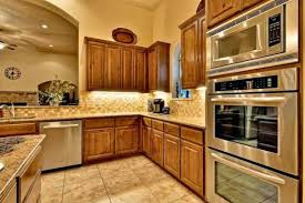 kitchens with stainless appliances fine kitchens with oak cabinets and stainless steel appliances in