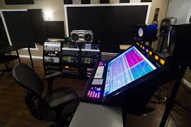 our new control room featuring slate raven one louder studio