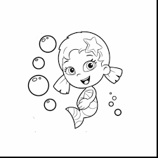 impressive bubble guppies oona guppiesoona colouring pages with