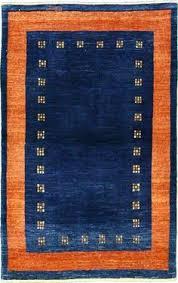 Orange And Blue Area Rug Furniture Sweet Looking Navy And Orange Rug Interesting Design