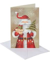 shopping special american greetings 6043658 santa holding