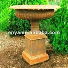 Pedestal Pots Pots And Urns For Gardens Large Urns For Gardens A Shade Garden