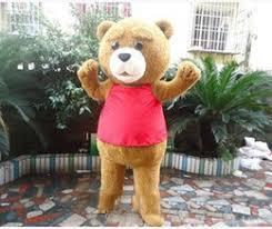 Halloween Mascot Costumes Cheap Discount Teddy Bear Halloween Costume Adults 2017 Teddy Bear