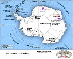 map of antarctic stations pawan kumar bharti m sc ph d pgdism fasea fansf shriram