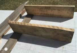 Wooden Shelves Building by Easy To Build Wood Shelves My Love 2 Create