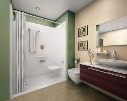 bathroom stunning modern walk in shower designs with white