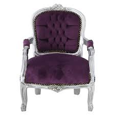 girls bedroom silver leafed girls chair in purple a must have for girls bedroom silver leafed girls chair in purple a must have for every princess