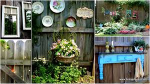Backyard Fences Ideas by Get Creative With These 23 Fence Decorating Ideas And Transform