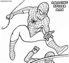 amazing spider man coloring pages coloring pages to download and