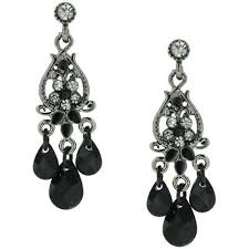 black chandelier earrings choosing the best black chandelier earrings infobarrel