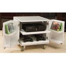 the video game console cart hammacher schlemmer