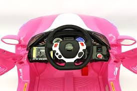 car ferrari pink moderno kids ferrari spider style kids ride on car mp3 usb player