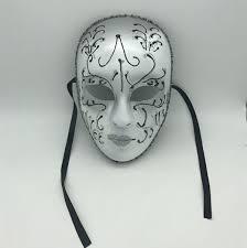 white mardi gras mask mask mardi gras mask white sliver glitter mask