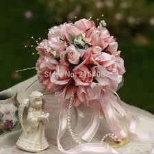 Wedding Bouquets Cheap Satin Clothes Picture More Detailed Picture About 2016 New