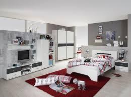 Ebay Schlafzimmer Betten Jugendzimmer Mit Bett 140 X 200 Cm Alpinweiss Grau Metallic Woody