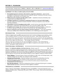 sle resume summary of skills 28 images qualifications section