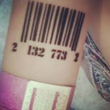 barcode tattoos and designs page 99
