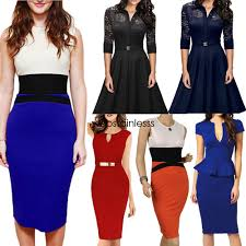 women u0027s business career bodycon evening cocktail party wear to