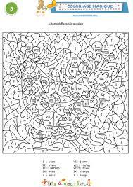 coloriage magique 8 1 chiffres romains coloriage tête à modeler