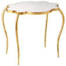 small gold side table shape gold side table