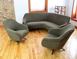 latest trend of curved sectional sofa with recliner 46 in montreal