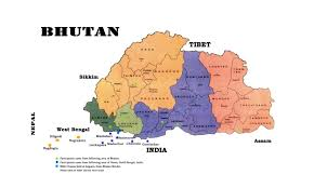 Har Map Maps Of Bhutan Detailed Map Of Bhutan In English Tourist Map