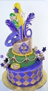 How To Make Mardi Gras Decorations Mardi Gras Cakes Mardi Gras Cake Ideas 4 Jpg Holiday Pictures