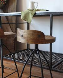 bar stools vintage style metal bar industrial stools cut the