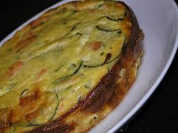 cuisiner les courgettes flan de courgettes au saumon cuisiner facile légumes aubergine