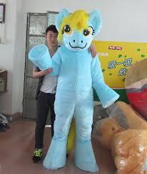 my pony costume with mini fan inside the my pony mascot costume