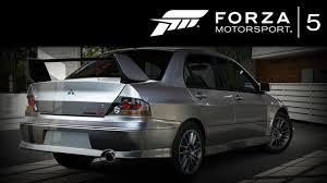 forza 5 mitsubishi lancer evo 8 mr 2004 forzavista 1 lap evolution