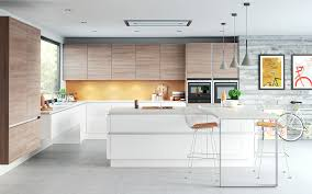 Modern White Kitchen Cabinets by Sleek Kitchen Cabinets Home Decoration Ideas