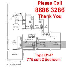 sqm to sqft the trilinq 2 bedroom type b1 65 sqm 700 sqft br hillion