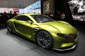 citroen supercar psa u0027s ds e tense electric supercar inches closer to production