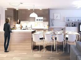 photo cuisine avec ilot central table ilot cuisine table ilot central cuisine moderne avec ilot