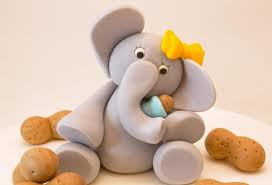 peanut baby shower my peanut elephant holding baby peanut excelent cake