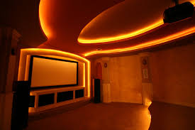 home theater interior design decor idea stunning simple under home