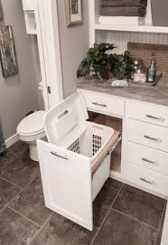 Bathroom Cabinet With Built In Laundry Hamper Drawers For Laundry Hampers Organize Pinterest Drawers