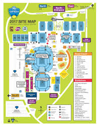 Salem Ohio Map by Site Map Western U0026 Southern Open