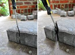 Cutting Patio Pavers Patio How To Cut Patio Pavers Pythonet Home Furniture Regarding