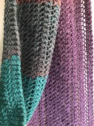 handmade knit by hand extra long and wide scarf neutral and muted