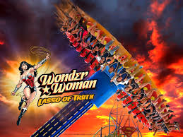 Six Flags Valejo Six Flags Discovery Kingdom Unveils New Wonder Woman Ride For 2017