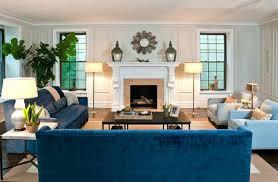 in the livingroom impressive blue sofa in the living room home design lover 4