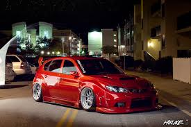 subaru wrx hatchback modified subaru impreza wrx sti cars bagged u0026 stanced pinterest