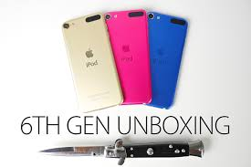 ipod touch 6 black friday ipod touch 6th generation unboxing gold pink u0026 blue first