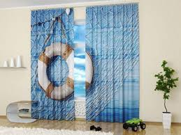 curtain nautical themed curtains jamiafurqan interior accessories